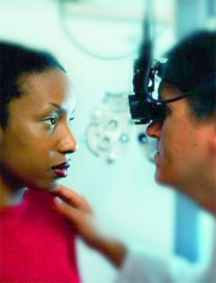 Socioeconomic Disparities Linked to Use of Eye Care