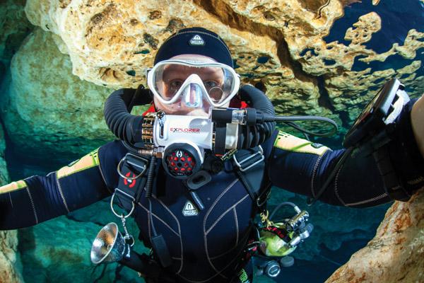 Jill Diving
