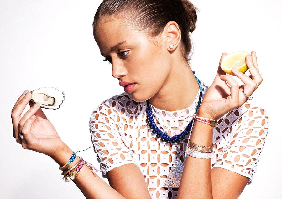 models eat
