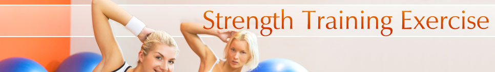 Strength Training banner