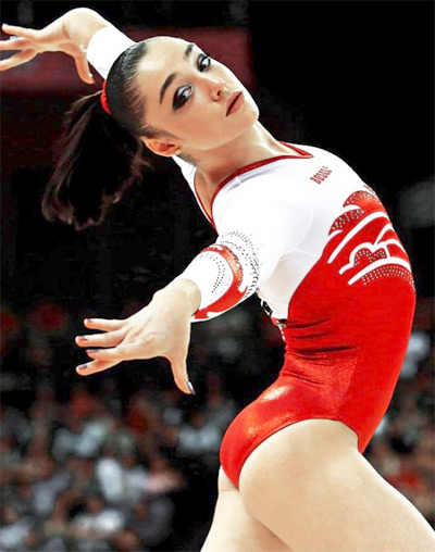 Aliya Mustafina - Top 10 2013 Most Flexible Women's Gymnasts Inspiring Life Stories