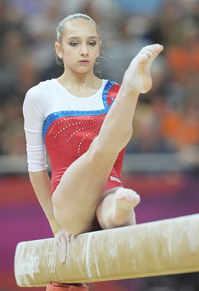 Viktoria Komova Top 10 Most Flexible Women Gymnasts