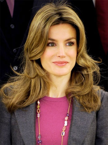 Princess Letizia, Spain