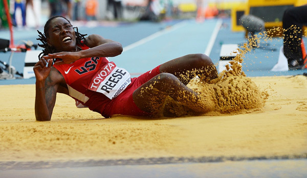 "Brittney Reese: Olympic Champion and Five Time World Champion in Long Jump Reveals her Success Mantra "" You dont have to be great to start but you have to start to be great"""