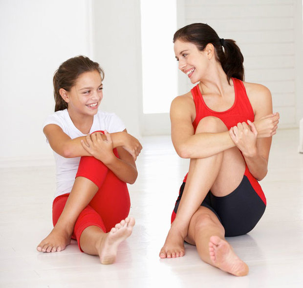 Workout Tips For Mother-Daughter Duo - Women Fitness